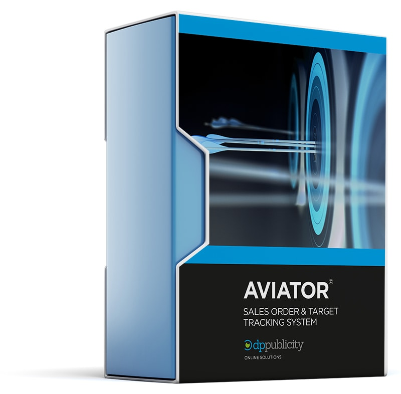 Aviator Web Sales Monitoring System Image