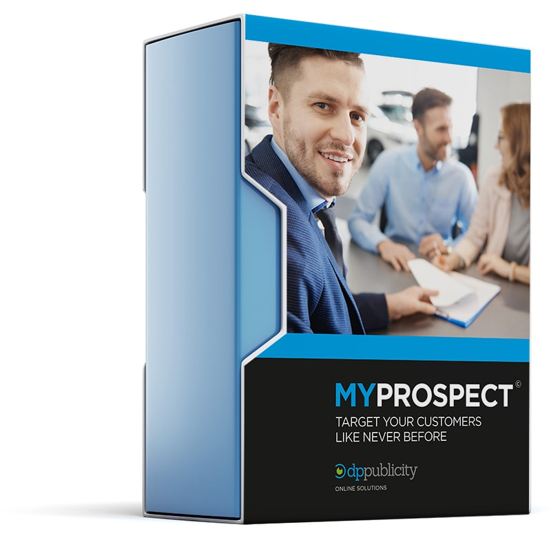 MyProspect Automotive Prospecting System Image